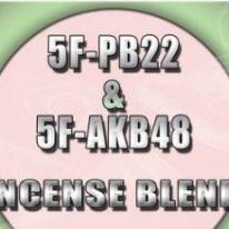 5F-PB22 & AKB-48F Incense Blend