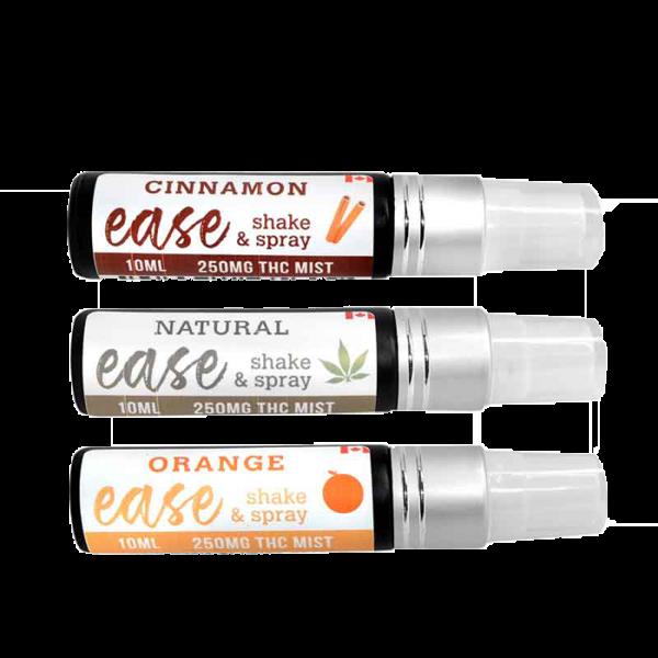 250mg THC Mist Spray 10ml – Ease