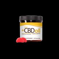 Plus Oil - Gold Formula CBD Gummies online