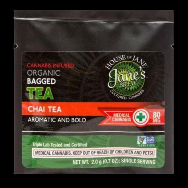 Cannabis Infused Organic Chai Tea online