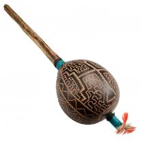 Shipibo Maraca rattle - Peru