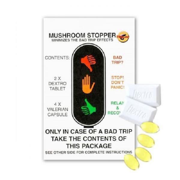 Magic Mushroom Stopper For Bad Trips