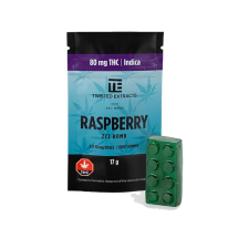 Raspberry INDICA ZZZ BOMBS – Twisted Extract