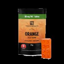Orange SATIVA JELLY BOMBS – Twisted Extract