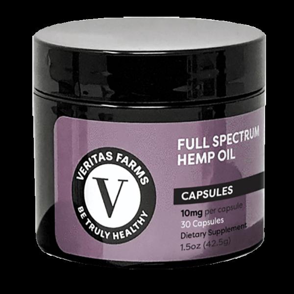 Veritas Full Spectrum CBD Capsules online