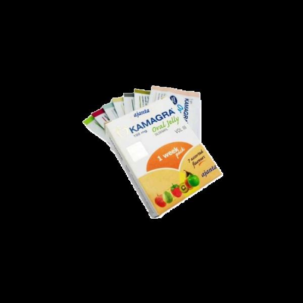 Buy Kamagra Oral Jelly 7x 100mg online