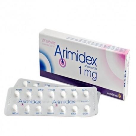 Buy Arimidex 28x 1mg online