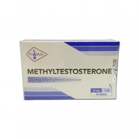 Buy Methyltestosterone Tablets Pharma Lab 50x25mg