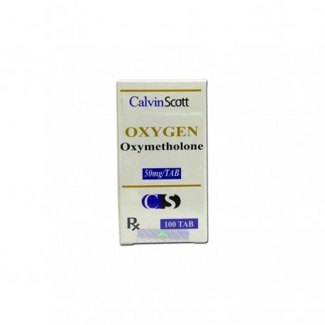 Buy Oxygen Tablets Calvin Scott 100x50mg