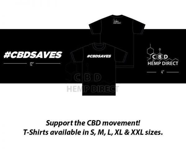 Buy CBDSAVES T-Shirt (S - XXL) Online